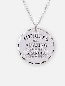 World's Most Amazing Grandpa Necklace