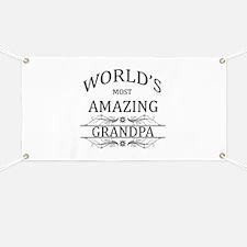 World's Most Amazing Grandpa Banner