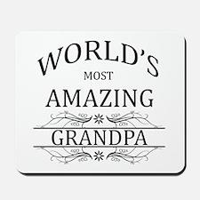 World's Most Amazing Grandpa Mousepad
