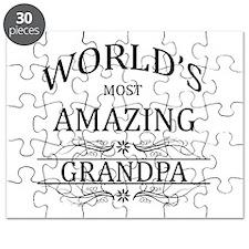 World's Most Amazing Grandpa Puzzle