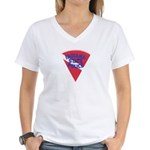 Indiana State Police Diver Women's V-Neck T-Shirt