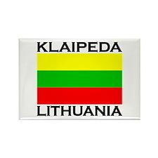 Klaipeda, Lithuania Rectangle Magnet