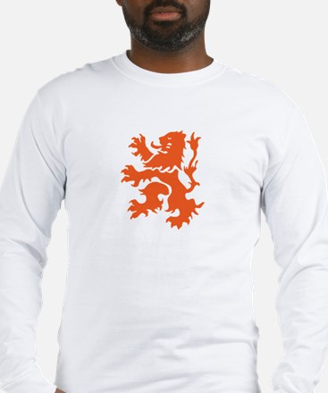 Netherlands Lion Long Sleeve T-Shirt