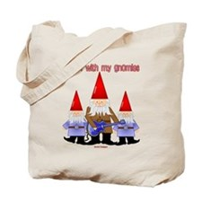 Hanging With My Gnomies Tote Bag