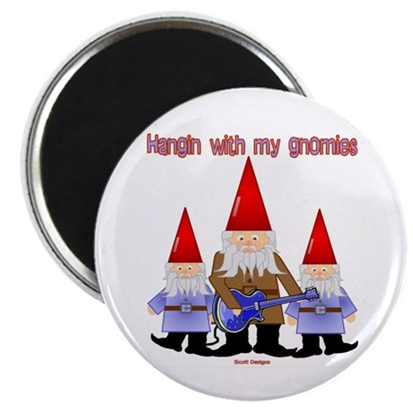 Hanging With My Gnomies Magnet