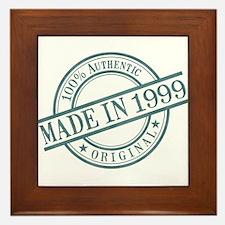 Made in 1999 Framed Tile