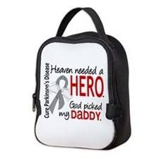 Parkinsons HeavenNeededHero1 Neoprene Lunch Bag