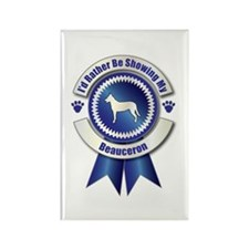 Showing Beauceron Rectangle Magnet (10 pack)