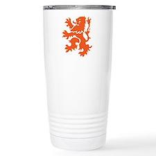 Netherlands Lion Travel Mug