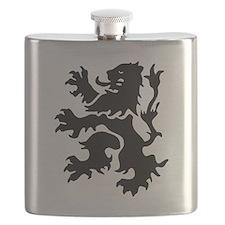 Netherlands Lion Flask