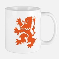 Netherlands Lion Mugs