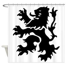 Netherlands Lion Shower Curtain