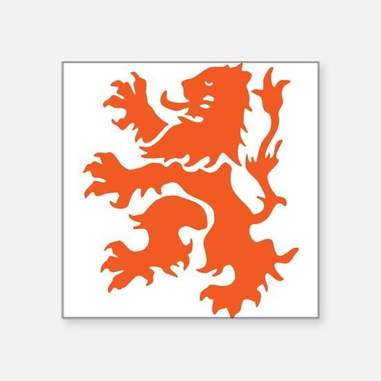 Netherlands Lion Sticker