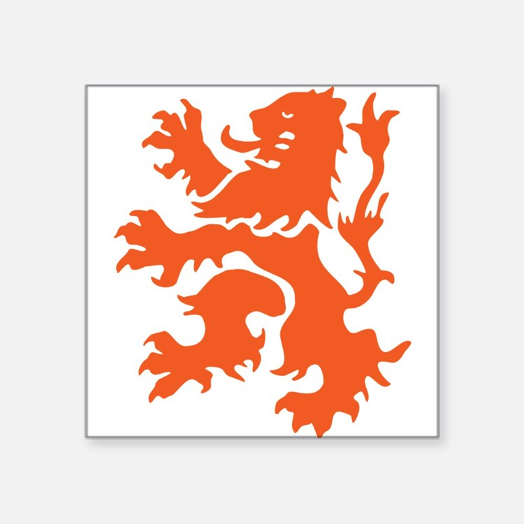Netherlands Lion Sticker