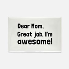 Mom Im Awesome Magnets