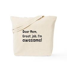 Mom Im Awesome Tote Bag