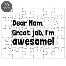 Mom Im Awesome Puzzle
