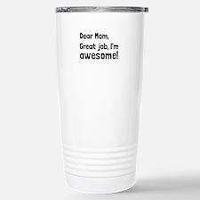 Mom Im Awesome Travel Mug