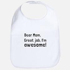 Mom Im Awesome Bib
