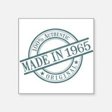 "Made in 1965 Square Sticker 3"" x 3"""