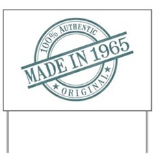 Made in 1965 Yard Sign