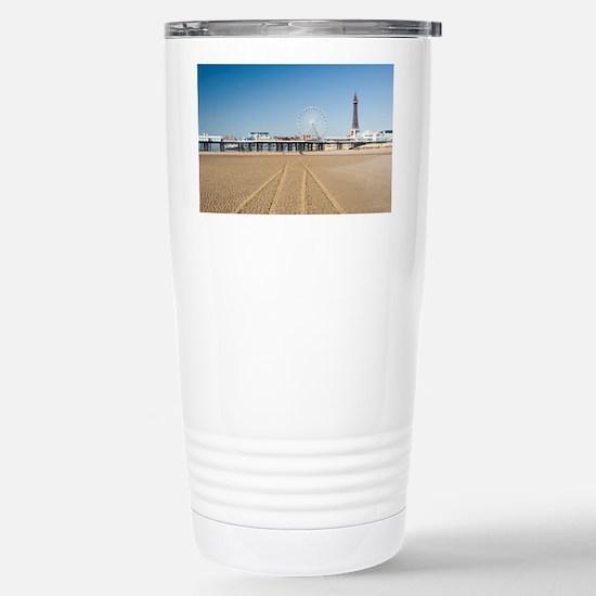 Blackpool central pier Stainless Steel Travel Mug