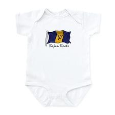Bajan roots Infant Bodysuit