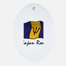 Bajan roots Oval Ornament