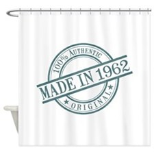 Made in 1962 Shower Curtain