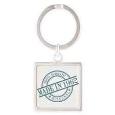 Made in 1962 Square Keychain