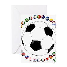 Brazil Soccer 2014 Greeting Cards