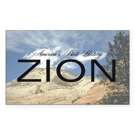 ABH Zion Sticker (Rectangle)