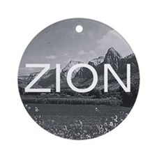 ABH Zion Ornament (Round)