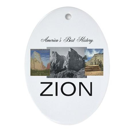 ABH Zion Ornament (Oval)