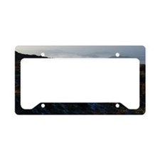 mountain top License Plate Holder