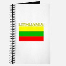 Lithuania Flag (Dark) Journal