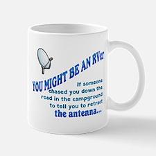 You Might Be An Rver...antenna Mugs