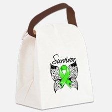 Lyme Disease Survivor Canvas Lunch Bag