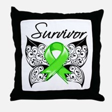 Lyme Disease Survivor Throw Pillow