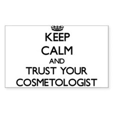 Keep Calm and Trust Your Cosmetologist Decal