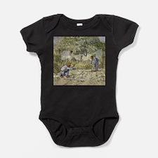 firststeps.jpg Baby Bodysuit