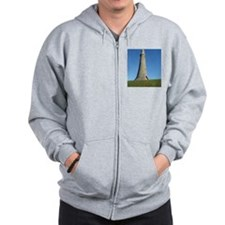 hoad monument wide angle Zip Hoody