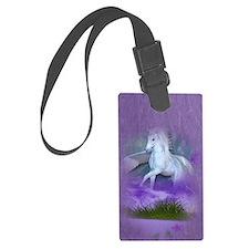 Pegasus island Luggage Tag