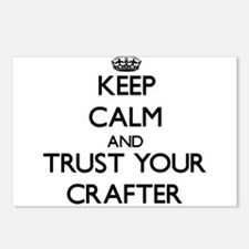 Keep Calm and Trust Your Crafter Postcards (Packag