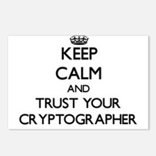 Keep Calm and Trust Your Cryptographer Postcards (