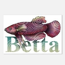 Betta Postcards (Package of 8)