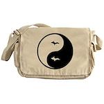 U.P._Ying_Yang.gif Messenger Bag