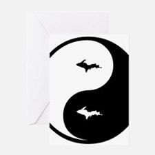 U.P._Ying_Yang.gif Greeting Cards