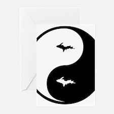 U.P._Ying_Yang.gif Greeting Cards