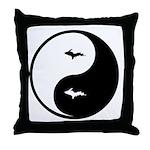 U.P._Ying_Yang.gif Throw Pillow